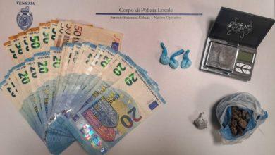 Mestre: droga e denaro nella camera del B&B