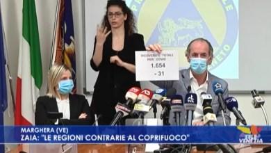 VIDEO: Luca Zaia: le regioni contrarie al coprifuoco - Televenezia