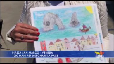 1000 mani per disegnare la pace