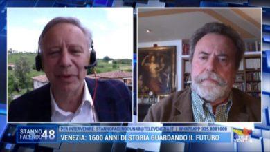 VIDEO: Pieralvise Zorzi: Venezia deve tornare a essere una città - TeleVenezia
