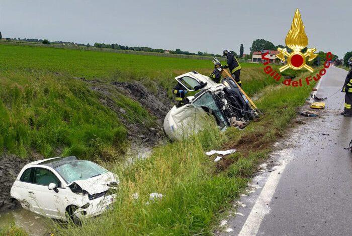 Noventa di Piave, incidente tra autocisterna di GPL e un'auto