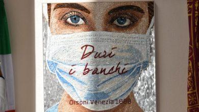 Venezia: il nuovo mosaico dedicato agli operatori sanitari