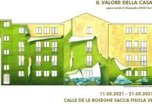 Sacca Fisola, Ater: lavori per il risparmio energetico e un grande murale