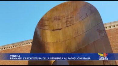 VIDEO: Biennale: l'architettura della resilienza al Padiglione Italia - TeleVenezia