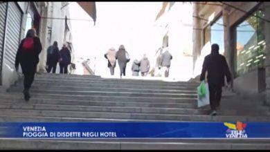 Piovono disdette negli alberghi veneziani
