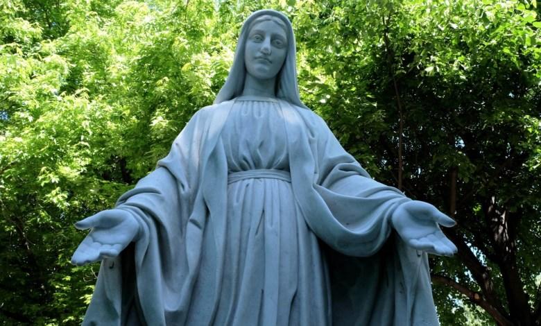 Riconsegnata alla cittadinanza di Marghera la statua della Madonna di piazzale Giovannacci dopo il grave atto vandalico del novembre scorso.