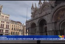 3 euro per entrare nella basilica di San Marco