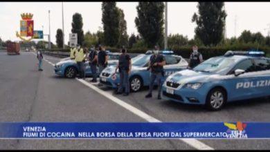 Venezia: fermato il traffico di cocaina nelle borse della spesa