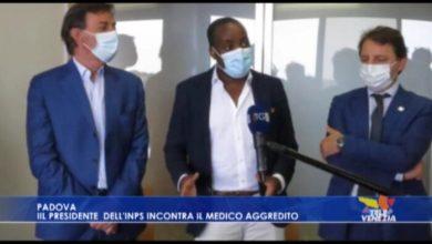 VIDEO: Tridico, presidente INPS, incontra Nelson Youtu - TeleVenezia