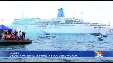 Ritornano le grandi navi a Venezia