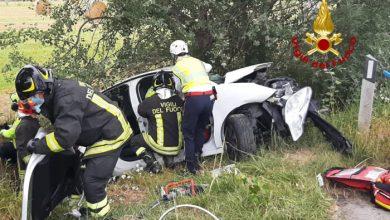 Noventa di Piave, scontro tra auto e autocisterna: un ferito grave
