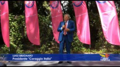 """Brugnaro fonda il suo partito """"Coraggio Italia"""""""