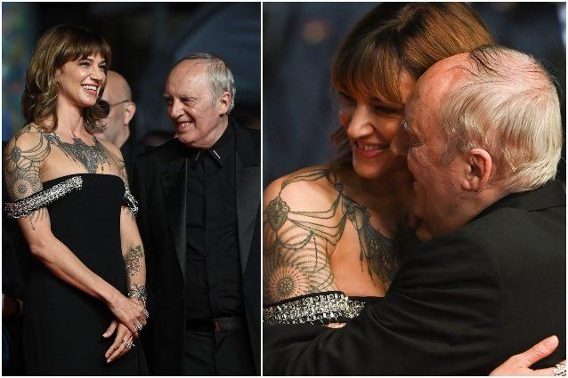 Asia Argento a Cannes 2021 con papà Dario - Radio Venezia