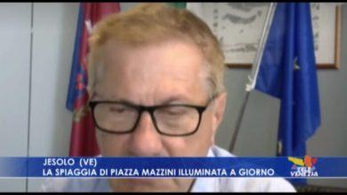 Jesolo: nuova illuminazione in Piazza Mazzini