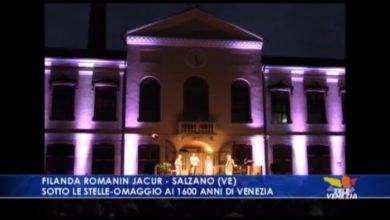 Salzano sotto le stelle: omaggio ai 1600 anni di Venezia - TeleVenezia