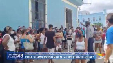 Cuba, L'Avana: le strade si riempiono di protestanti pacifici