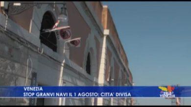 Stop grandi navi a Venezia dal 1 agosto: città divisa