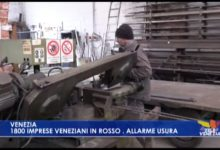 VIDEO: 1800 imprese veneziane in rosso. Allarme usura - TeleVenezia