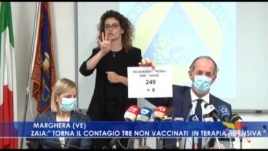 """Zaia: """"Torna il contagio, tre non vaccinati in terapia intensiva"""""""
