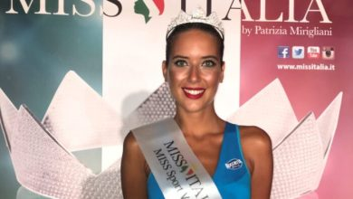 Anna Tosoni è Miss Sport Veneto 2021