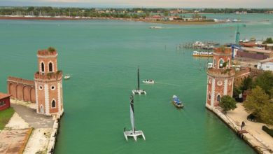 Marina Militare Nastro Rosa Tour 2021: gran finale all'Arsenale di Venezia - TeleVenezia
