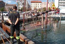 Chioggia: affondato l'antico Bragozzo del Museo