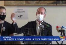 Zaia: da lunedì a Treviso inizia la terza dose per i fragili