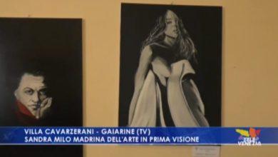 Sandra Milo madrina dell'arte in prima visione - TeleVenezia