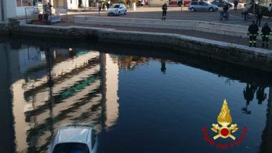 Portogruaro: dimentica inserire il freno a mano, auto finisce nel Lemene - Televenezia