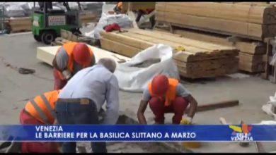 Le barriere per la Basilica slittano a marzo