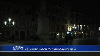 Venezia: movida nel vuoto lasciato dalle grandi navi - TeleVenezia