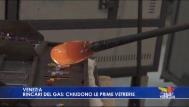 Rincari del gas: chiudono le prime vetrerie