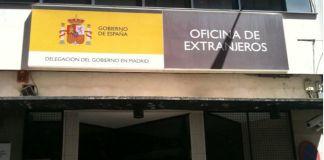 Oficina de Extranjería en Madrid