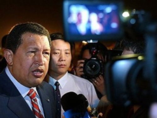 北京でのチャベス