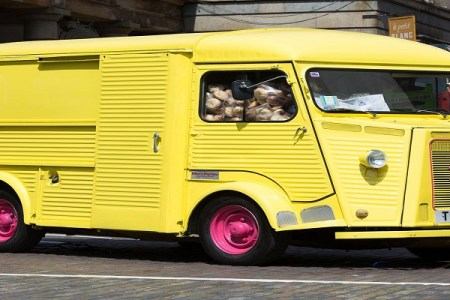 Un food truck llamado Choroní recorre Londres