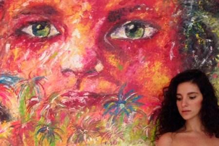 El arte de Carla Baratta: Color y Trazos Gruesos