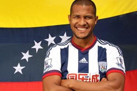 Rondón llegó a su meta de diez goles
