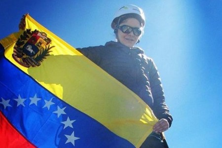 Venezolana Giselle Cesin, conquista el monte McKinley