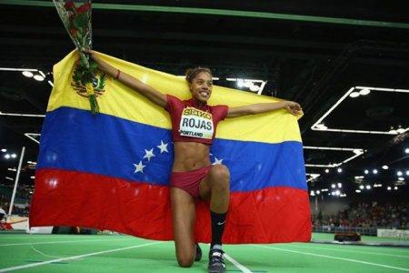 Yulimar Rojas gana oro en Madrid