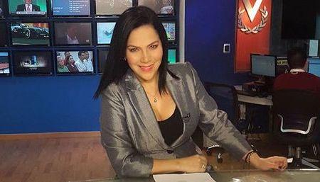 Jessica Brizuela, ancla del Noticiero Venevisión