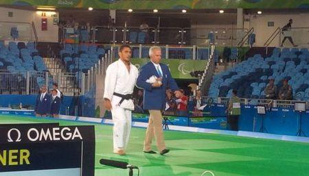 Mauricio Briceño pasó a cuartos de final en judo paraolímpico