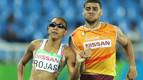 Sol Rojas conquistó medalla de plata en paraolímpicos