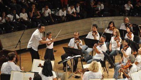 La OSV en Mi Escuela: Mágico encuentro de los niños con la música