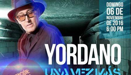 Yordano regesa con concierto lleno de música, vida y agradecimiento