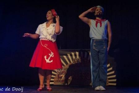 Anna Rosa y Rony, dos talentos venezolanos que triunfan en el burlesque europeo