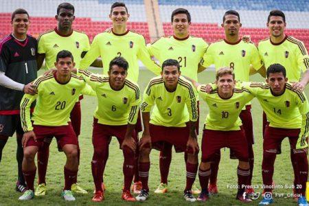Colombia no pudo nuevamente con la Vinotinto sub-20