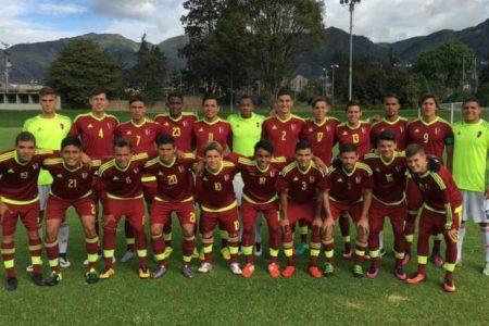La Vinotinto Sub-20 cerró invicta su gira por Bogotá