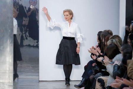 Carolina Herrera presente en la semana de la moda de Nueva York