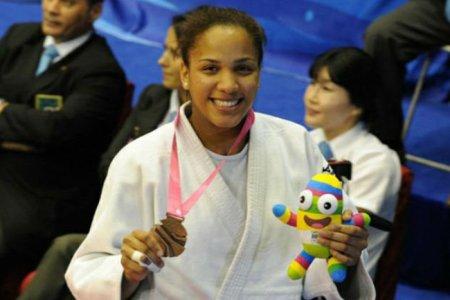 Judoca Elvismar Rodríguez a combatir en París