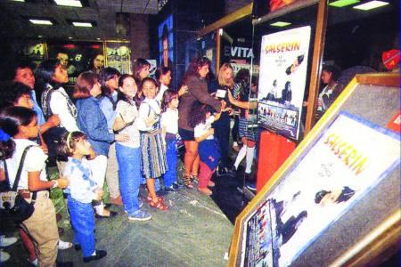 El éxito de Salserín también fue un hito en el cine venezolano